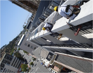 Painting Cape Town - safety first